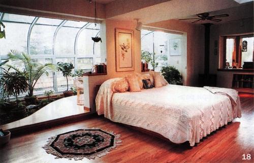 18 зимний сад совмещенный со спальней